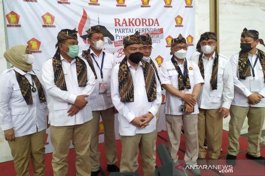 Gerindra: Dukungan Prabowo maju Pemilu 2024 datang dari 12 provinsi