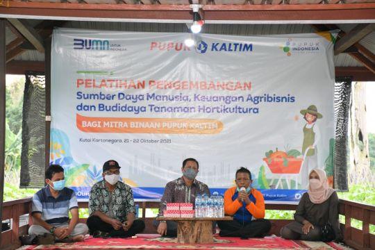 Pupuk Kaltim tingkatkan kapasitas petani binaan sektor hortikultura