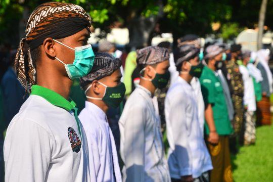 Kominfo: Ulama dan santri berperan lawan pandemi