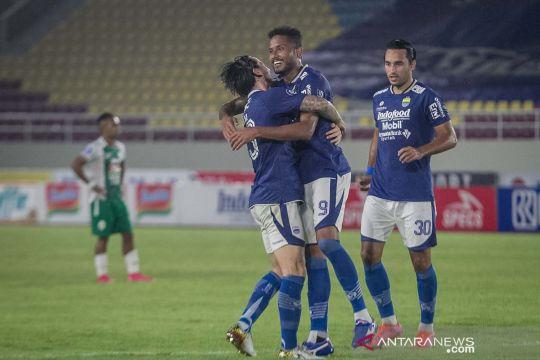 Liga 1: Persib Bandung kalahkan PSS Sleman 4-2