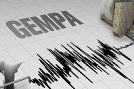 Rentetan gempa di Jawa Tengah dipicu sesar aktif