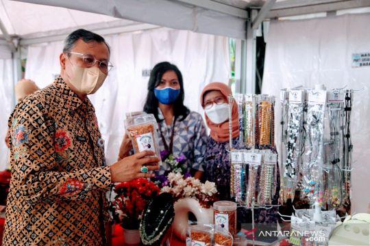 Omzet bazar UMKM campuran di Jakarta Pusat capai Rp96 juta