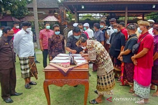 Bupati Gianyar berhasil damaikan sengketa desa adat Jero Kuta