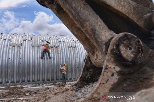Progres pembangunan TolBinjai-Pangkalan Brandan di Binjai
