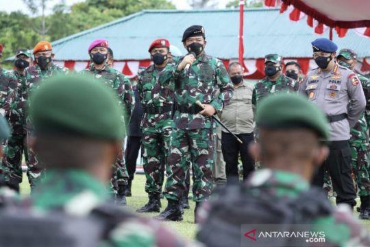 Panglima beri arahan buat prajurit di Bali jelang purnabakti