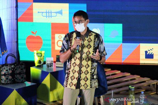 Menparekraf ajak wisatawan belanja produk ekraf Lampung