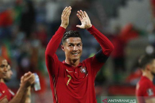 Cristiano Ronaldo sebut dirinya belum mau pensiun dari timnas Portugal