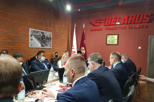 Rachmat Gobel tawarkan Belarus impor karet dari Indonesia