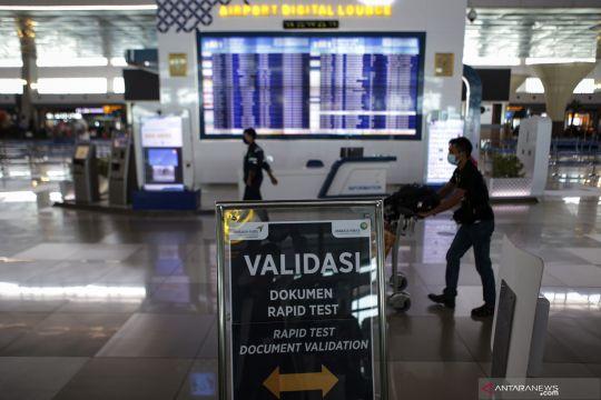 Layanan PCR di Terminal 3 Bandara Soekarno-Hatta hasilnya keluar 3 Jam
