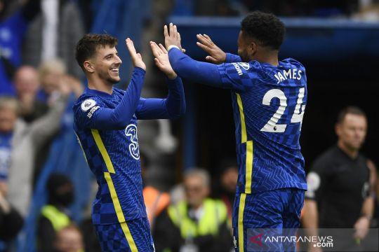 Liga Inggris:  Chelsea bantai Norwich 7 gol tanpa balas