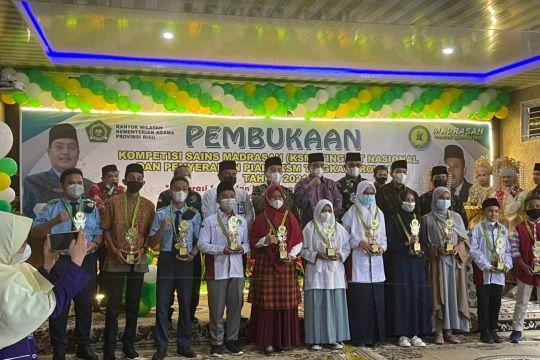 374 siswa ikuti Kompetisi Sains Madrasah 2021