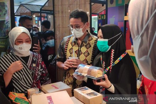 Sandiaga harap AKI edisi Lampung jadi momentum kebangkitan parekraf