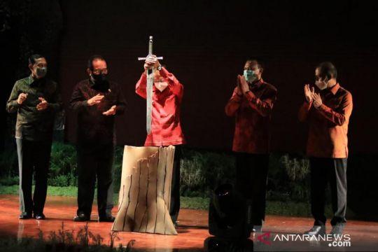 Gubernur tancapkan pedang tandai pembukaan Festival Seni Bali Jani III