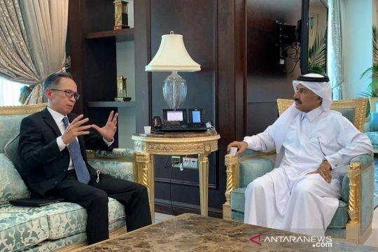 Wamenlu jajaki kerja sama lembaga investasi Indonesia-Qatar
