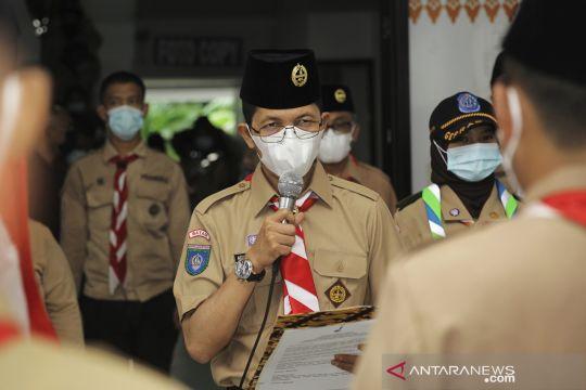 Pramuka Peduli bantu warga Batam terdampak COVID-19