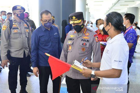 Kapolri ingatkan pengecekan vaksinasi dan tes PCR wisman di Bali