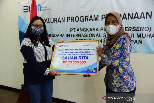 Angkasa Pura I berikan bantuan modal kerja Rp515 juta bagi UMKM