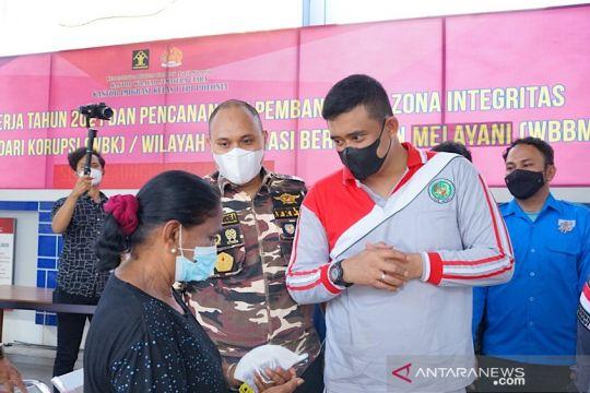 Capaian vaksinasi di Medan sudah 65,25 persen