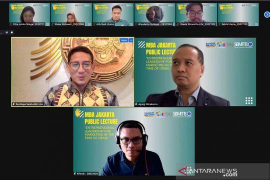 Sandiaga Uno paparkan revitaliasi pariwisata dengan metode 3G