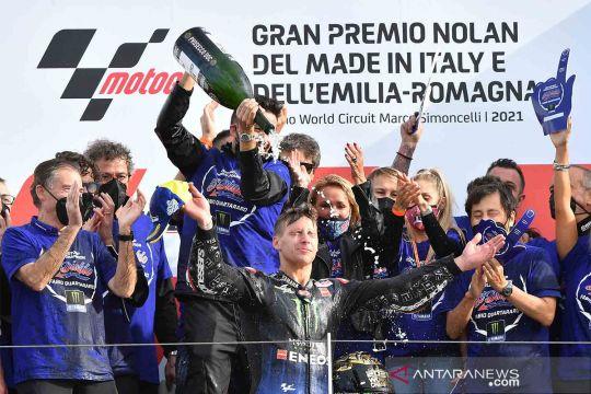 Quartararo mengunci gelar juara dunia MotoGP 2021