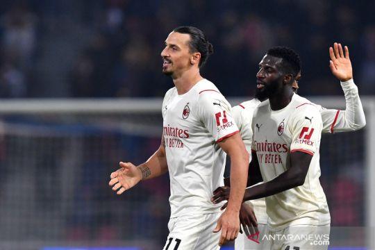 Milan susah payah tundukkan sembilan pemain Bologna