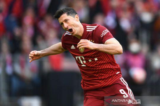 Lewandowski nikmati kembalinya 60 ribu penonton di Allianz Arena