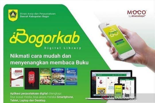 Pemkab Bogor luncurkan perpustakaan digital