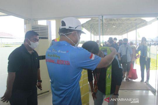 Sekda Belitung sambut kedatangan atlet peraih medali PON XX Papua