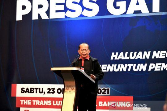 Syarief Hasan: Diskursus haluan negara masih terkait payung hukum