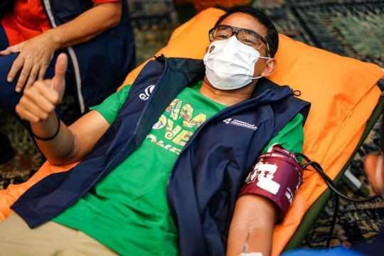 Kemenparekraf dan PMI Jakarta hadirkan 'Geber Donor Darah'