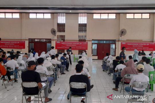 Penerima vaksin lengkap capai 67,91 juta jiwa penduduk Indonesia