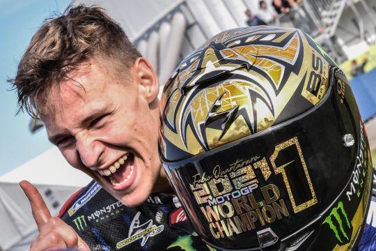 Fakta menarik dari Fabio Quartararo, juara dunia baru MotoGP