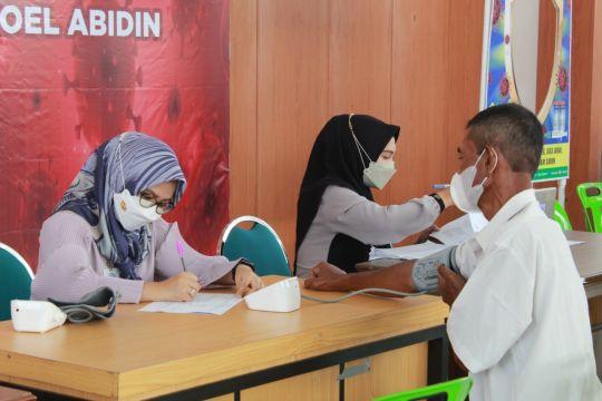 Satgas: Vaksinasi massal Pemerintah Aceh di Banda Aceh 80.895 orang