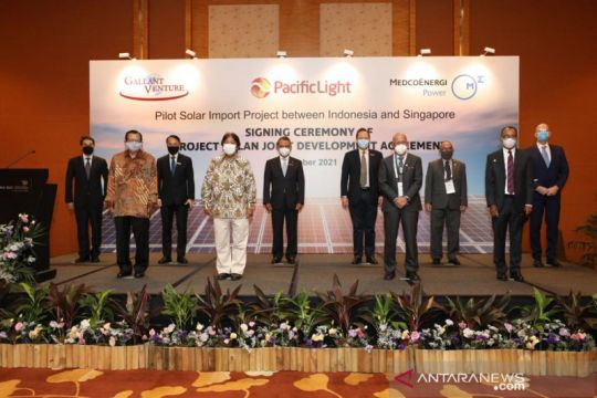 Medco Power garap proyek ekspor energi hijau ke Singapura