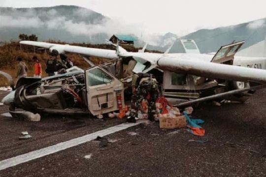 Jenazah pilot Smart Air dievakuasi ke Jakarta melalui Timika