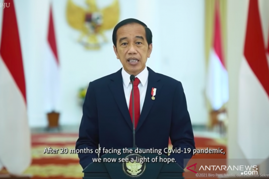 Presiden: Vaksinasi 70 persen penduduk ASEAN harus segera dicapai