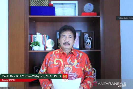 Kepala BPIP: Purnapaskibraka duta untuk arus utamakan Pancasila