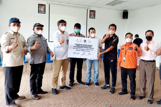 SKK Migas-KKKS beri bantuan sembako warga Kepri terdampak COVID-19