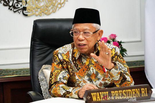 Ma'ruf Amin imbau pelaku industri pariwisata tegakkan disiplin prokes