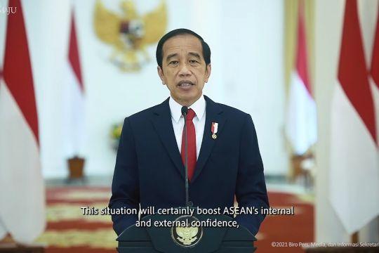 Presiden Jokowi: Pembatasan perjalanan di kawasan ASEAN bisa dikurangi