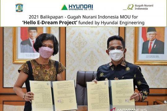 "Hyundai Engineering ""New Hope School No.11"" digelar di Balikpapan"