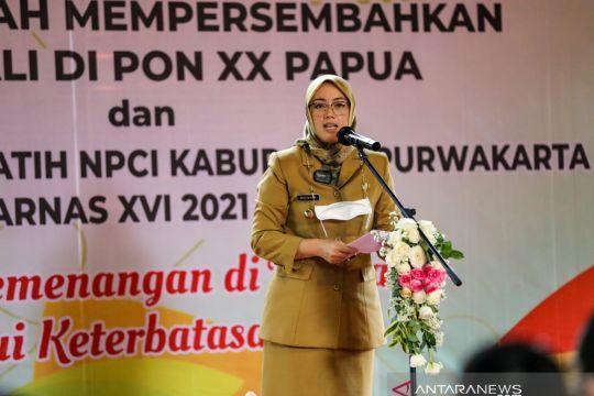 Bupati Purwakarta sambut atlet PON dan lepas atlet Peparnas