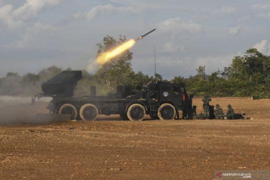 Latihan pendaratan Operasi Amfibi TNI AL