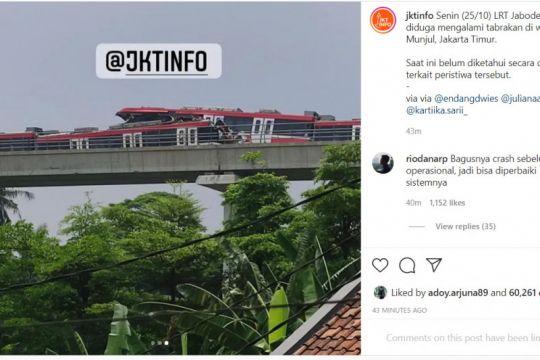 Polrestro Jaktim siap bantu KNKT investigasi tabrakan LRT