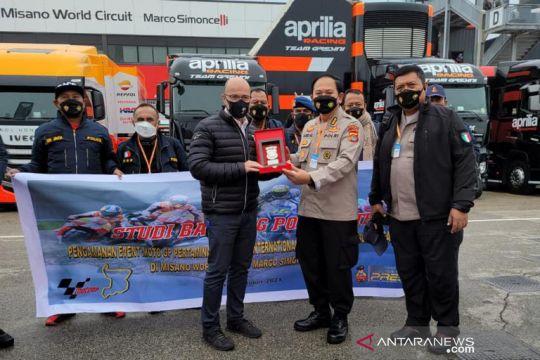 Polda NTB dapat gambaran pengamanan di Misano World Circuit Italia