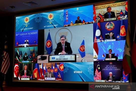 KTT ASEAN dimulai tanpa kehadiran Myanmar