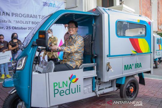 PLN kembangkan gerobak motor listrik untuk usaha mikro kecil