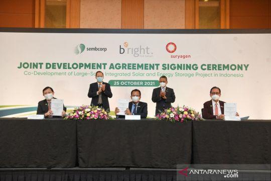 Tiga proyek solar panel segera dibangun oleh Indonesia, Singapura