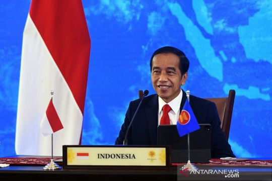 Presiden Jokowi: Penurunan COVID-19 di ASEAN momentum bangkit bersama