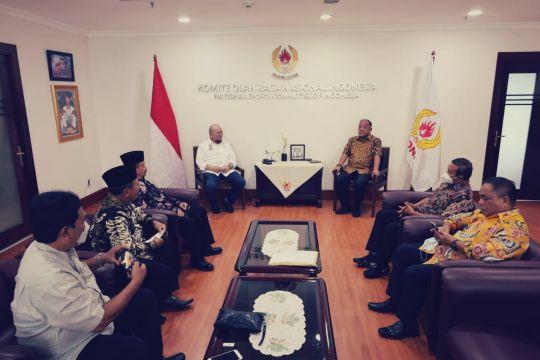 Ketua DPD RI dampingi PSHT temui Ketum KONI untuk selesaikan polemik